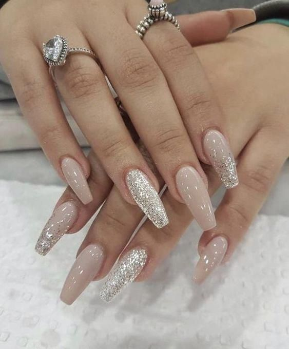 65 Stylish Acrylic Nail Designs for New Year 2019 , Page 16