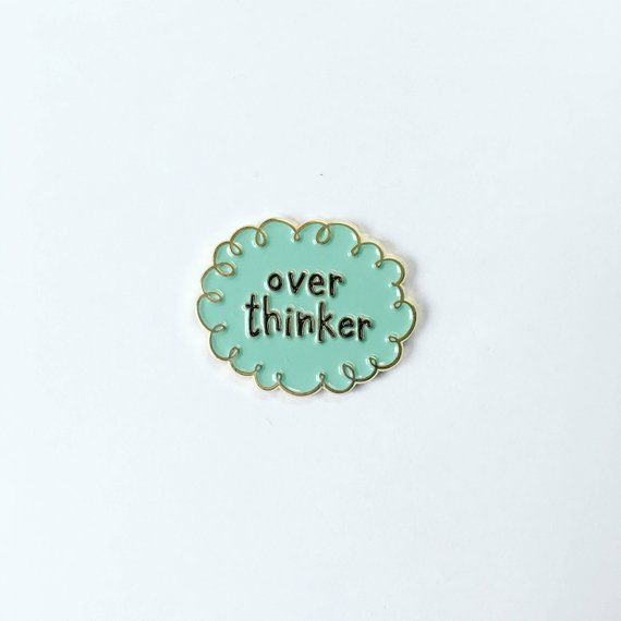New Funny Pins Overthinker Enamel Pin - Worrier Pin - Mom pin - Blogger pin - Genius Pin - Lapel pin for Introverts - Graduation gift - Funny Pin - Thought Overthinker Enamel Pin - Worrier Pin - Mom pin - Blogger pin - Genius Pin - Lapel pin for Introverts - Graduation gift - Funny Pin - Thought 10