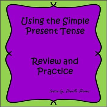 Simple Present Tense Subject Verb Agreement Pinterest Subject