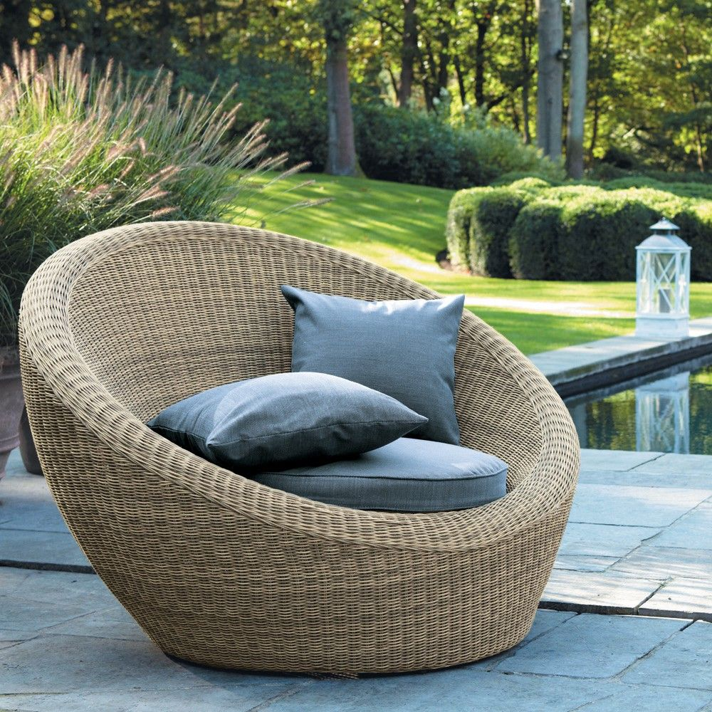 maisons du monde salon de jardin en rotin furniture. Black Bedroom Furniture Sets. Home Design Ideas