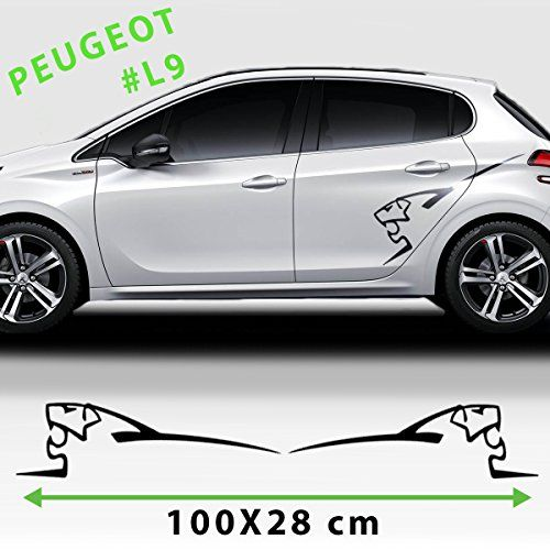 Sport racing stripes logo stickers decal for any peugeot https www amazon co uk dp b01n6uwyne refcm sw r pi dp x xkiybktyn435