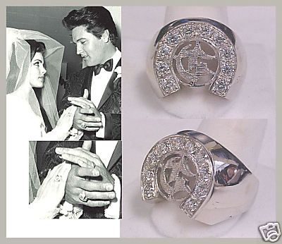 Elvis And Priscilla S Matching Engagement Rings