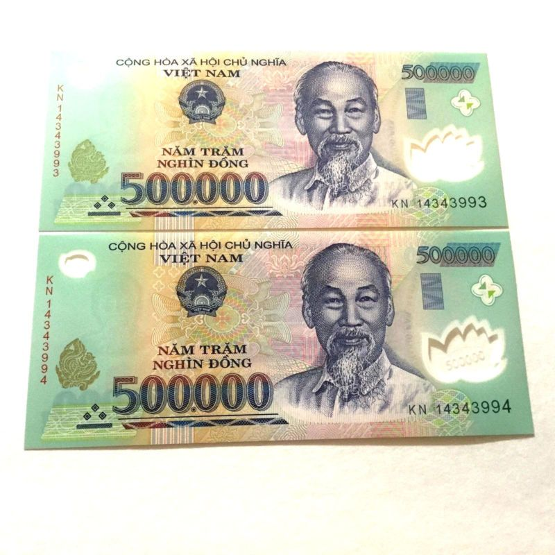 1 Million Vietnamese Dong Currency Unc