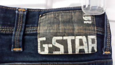 G star Raw 01 Denim Jeans 5204 Defend Super Slim Dark Wash