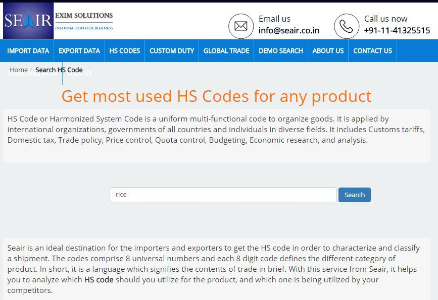If You Do Not Know How To Find Hs Codes For Products Then It