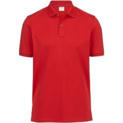 Olymp Level Five Casual Polo-shirt, body fit, Rot, M Olymp