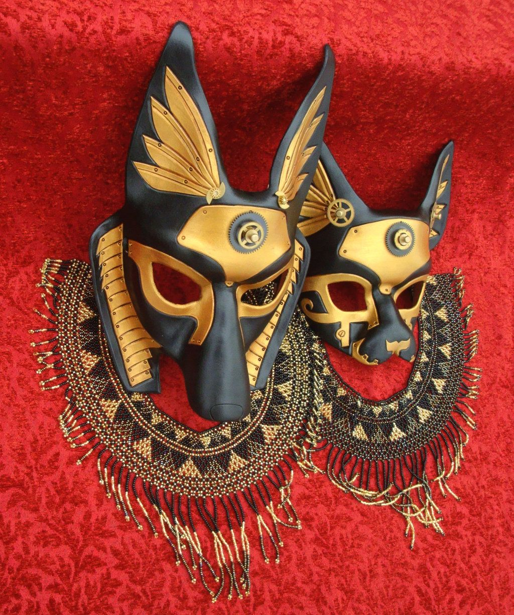 Made to Order: Egyptian Jackal Anubis Leather Mask - Underworld ...