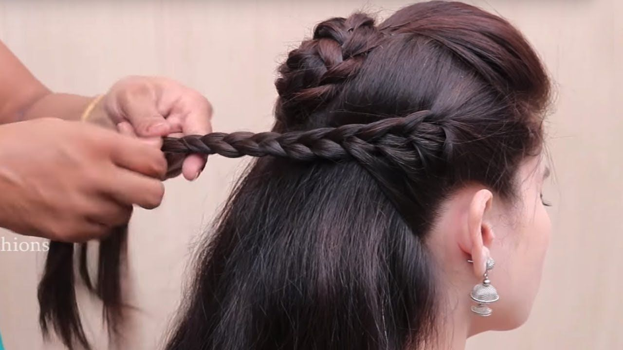 Simple Braided Hairstyles 2018 Braided Hairstyles  Awesome Braids Ideas  Simple And Easy