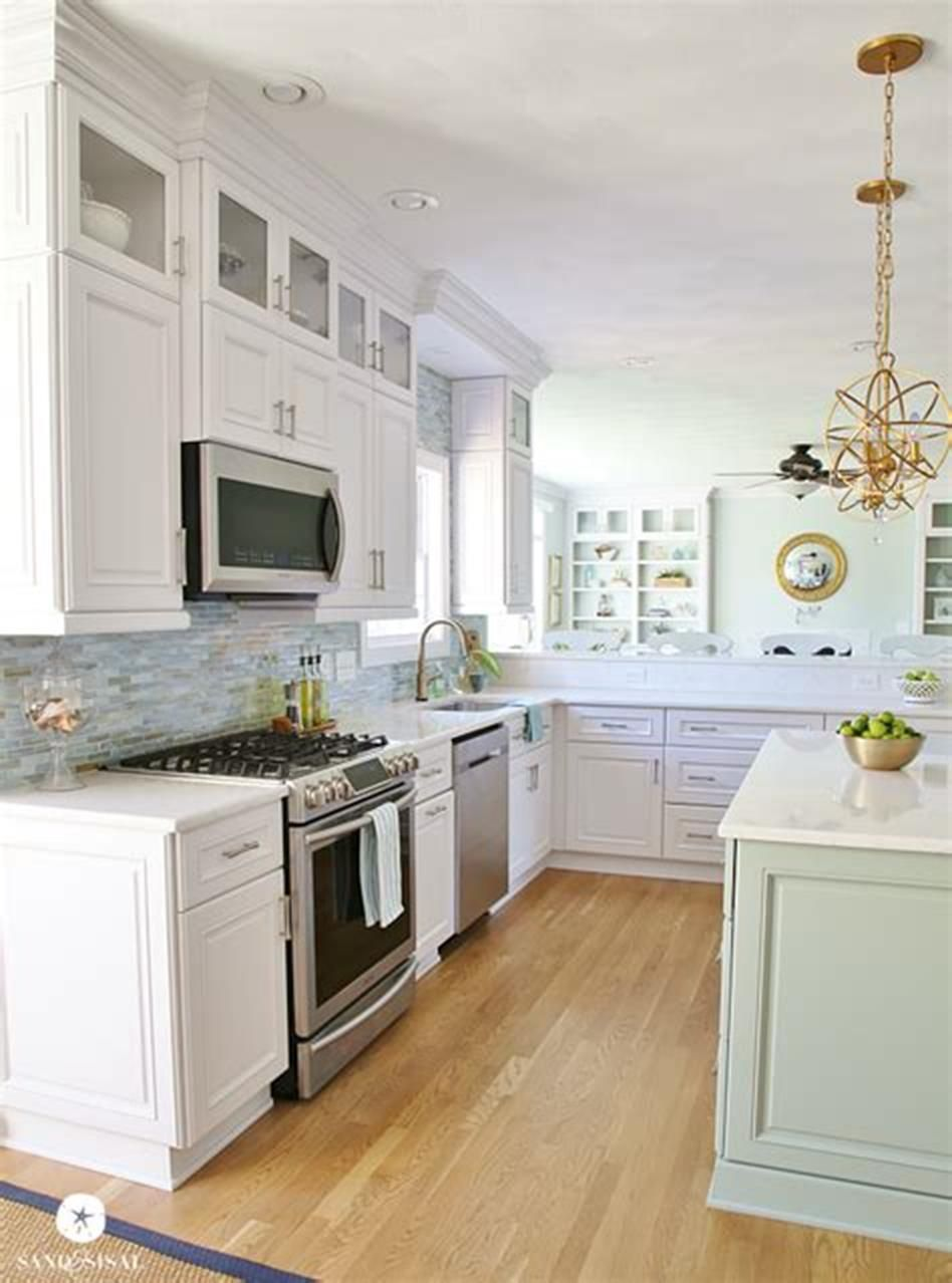 47 Amazing Coastal Kitchen Decor And Design Ideas Kitchen