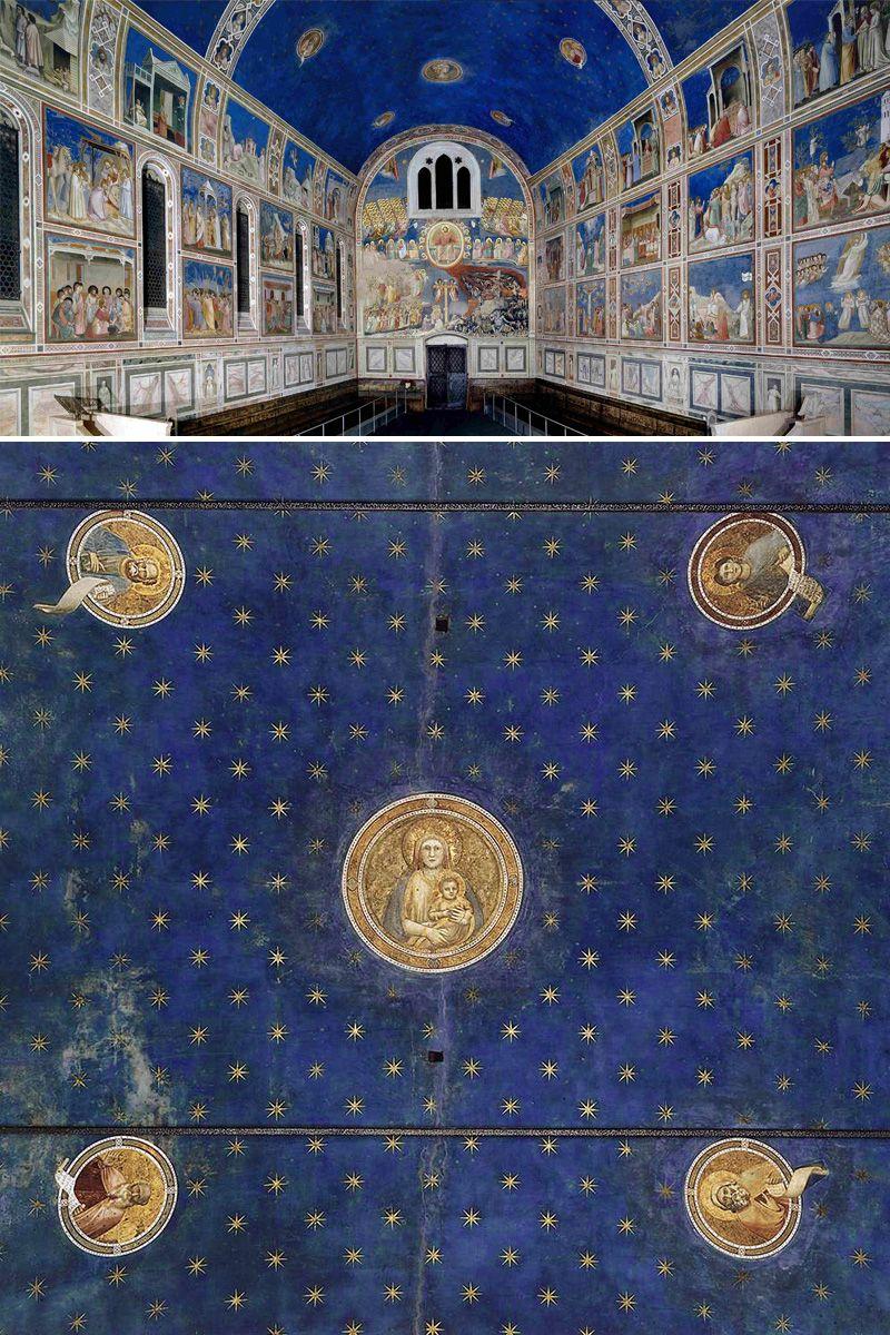 Cappella Degli Scrovegni Giotto Assisi Italia