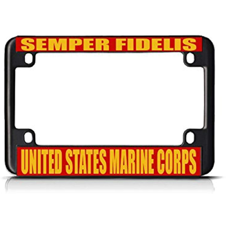 Marine Corps /'Semper Fidelis/' License Plate Frame U.S