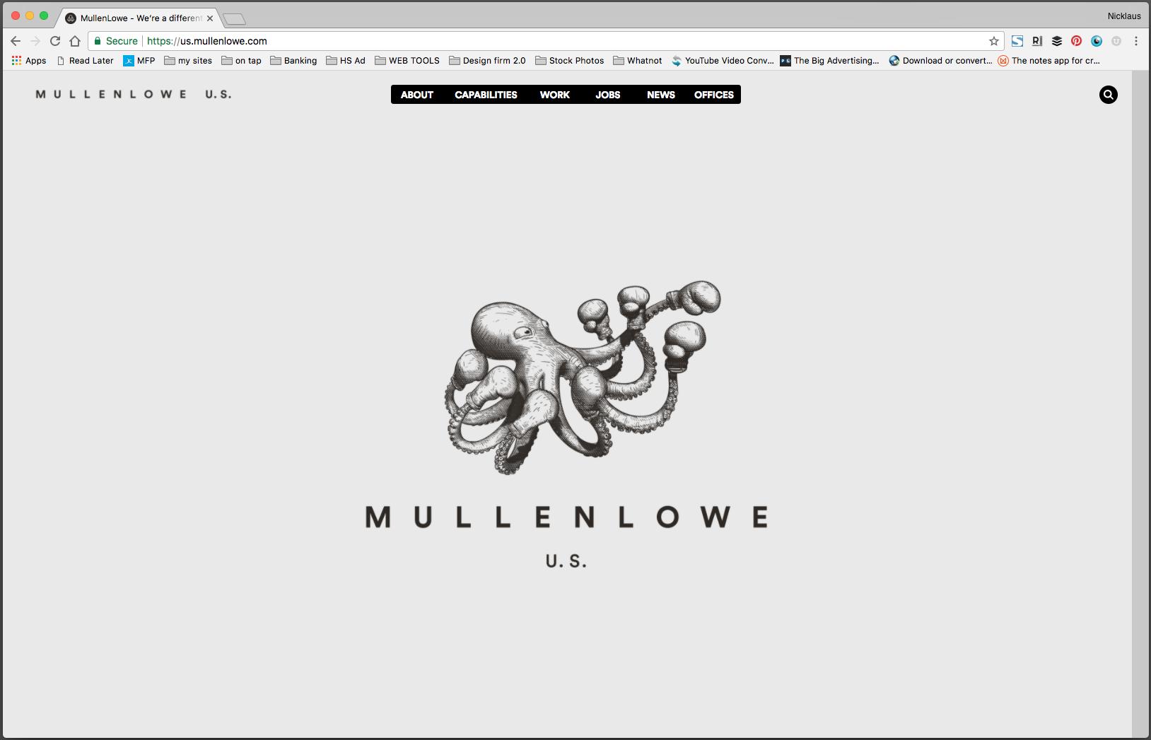 Mullenlowe Digital Advertising Web Design Advertising