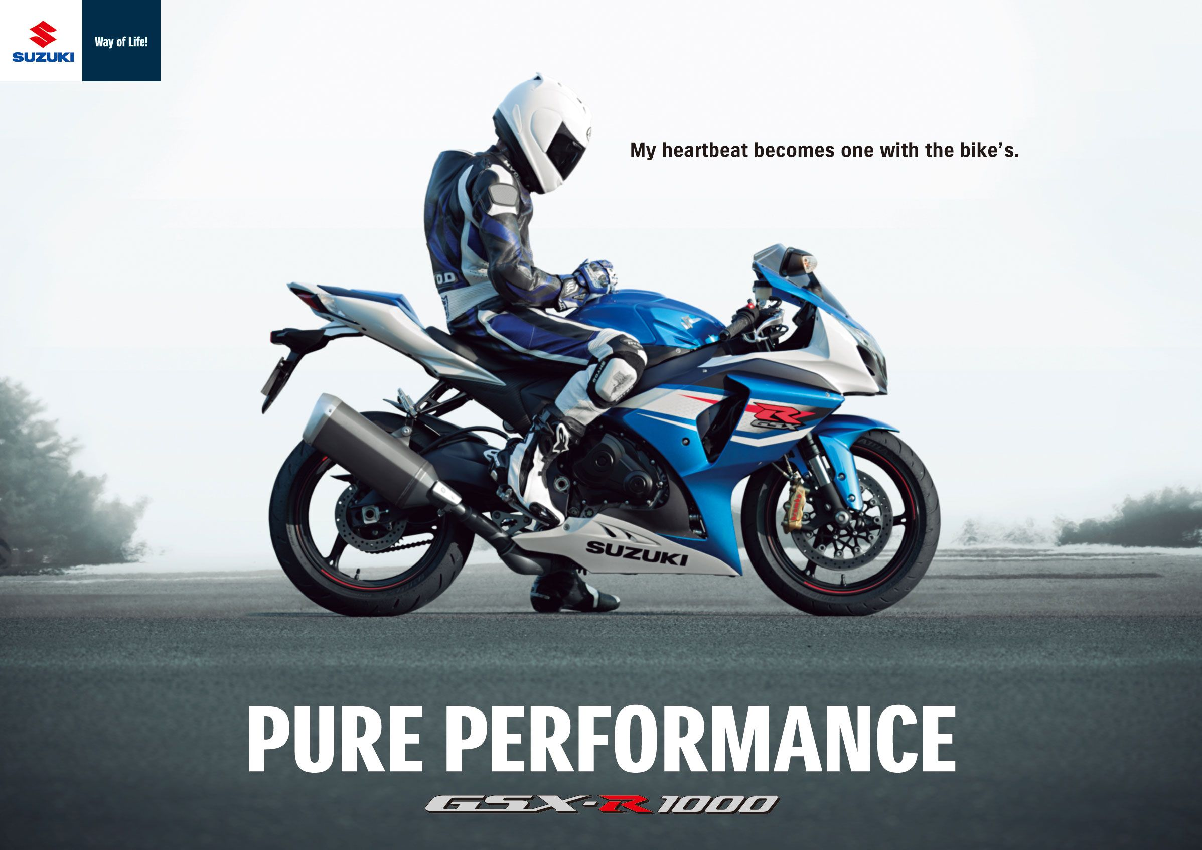 Gsxr 1000 pure performance