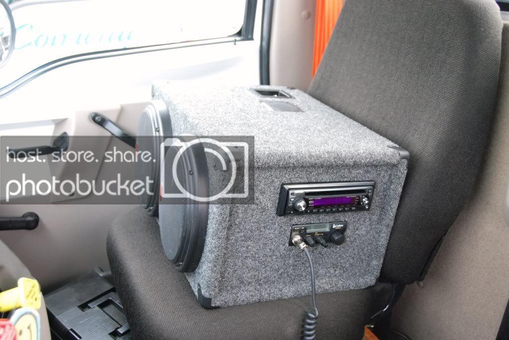 CB Radio Slip Seat Box (A) Cb radios, Seating, Cb radio