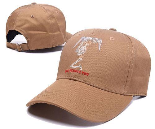 91fe7e08520 2017 Fashion Sports Yeezus Adjustable Snapback Hat