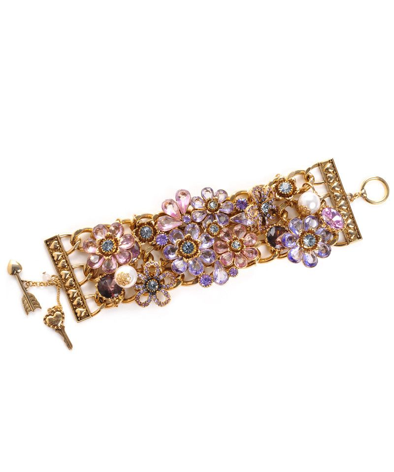 Cluster Flower Cuff....so cute Betsey!