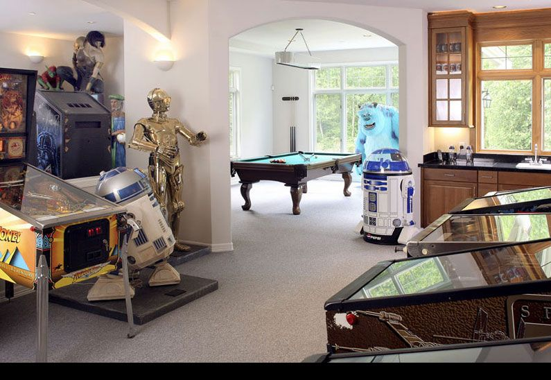 50 Awesome Video Game Room Decoration Ideas - InteriorSherpa