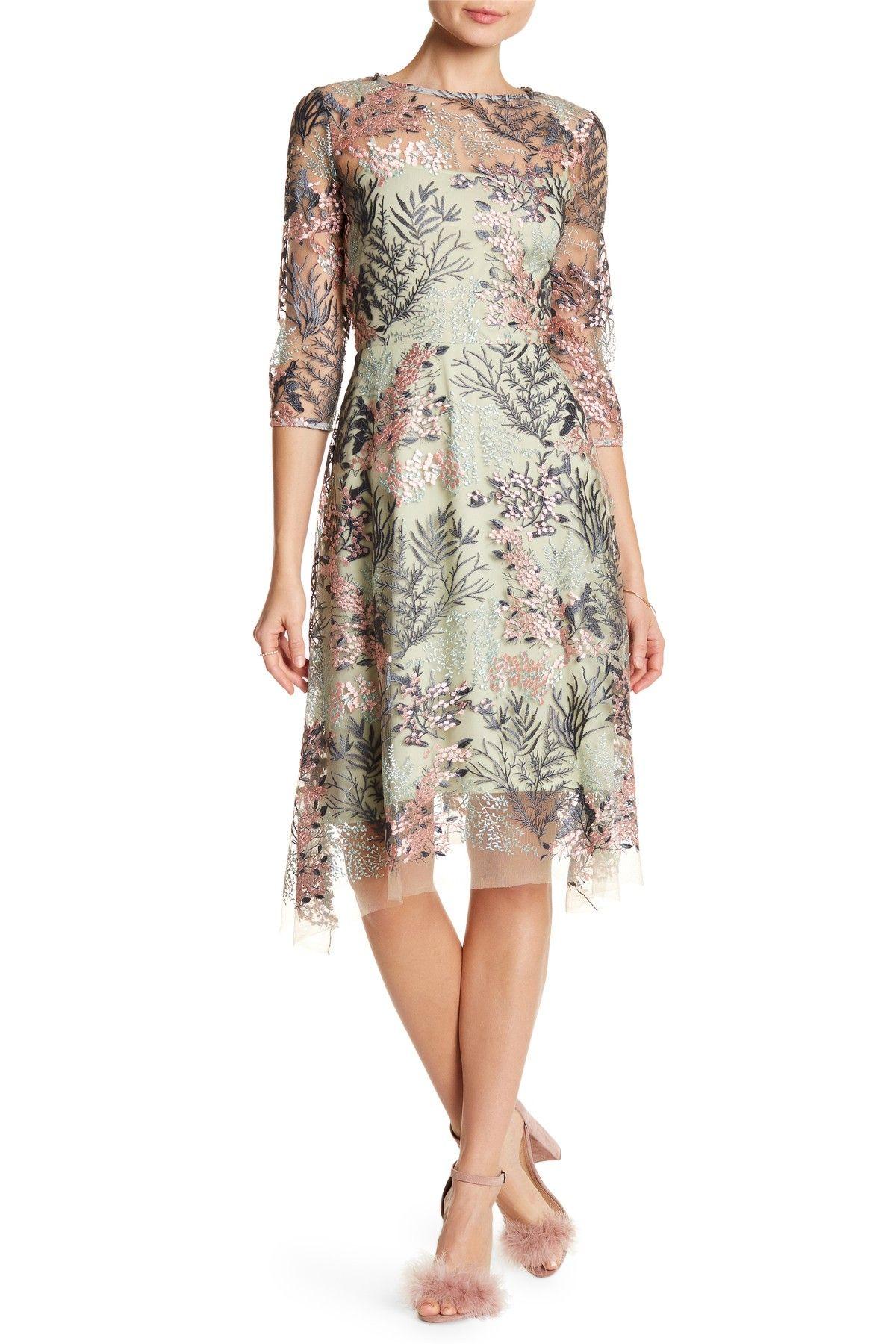 aa15d79010a Eva Franco Esmerelda Embroidered Dress