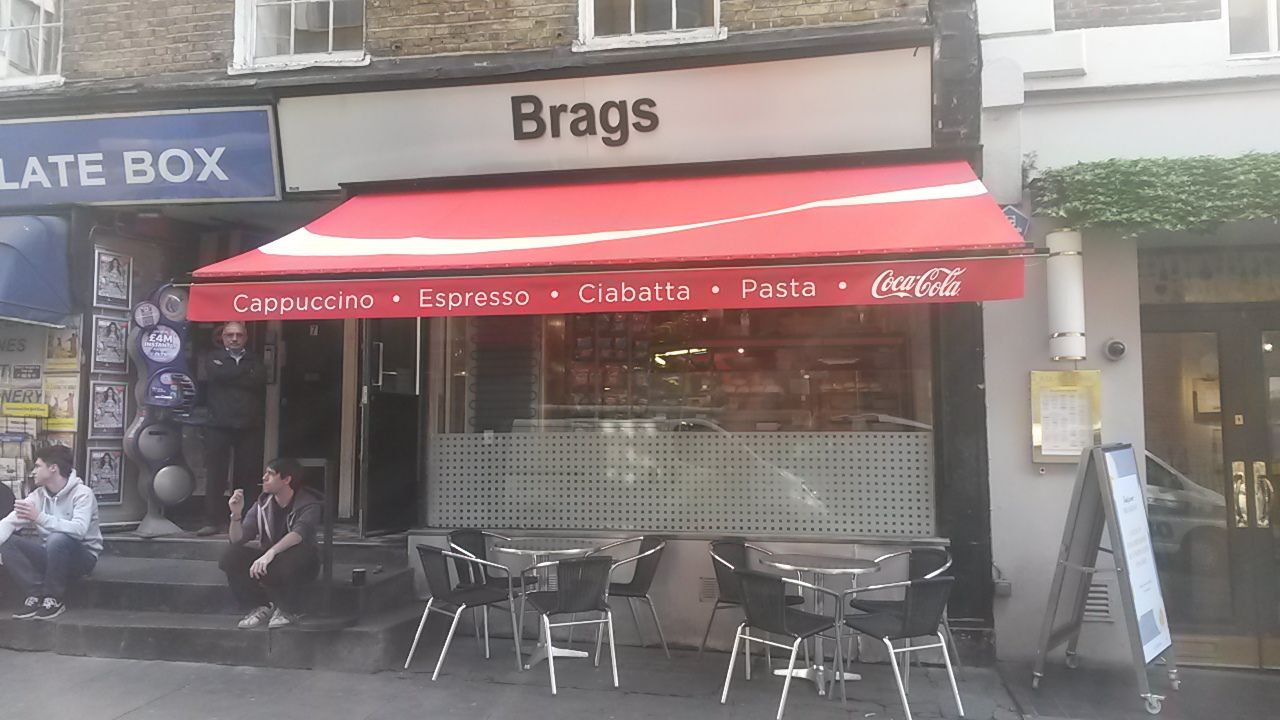 Traditional Victorian Shop Blind For Coca Cola By Deans Blinds Awnings