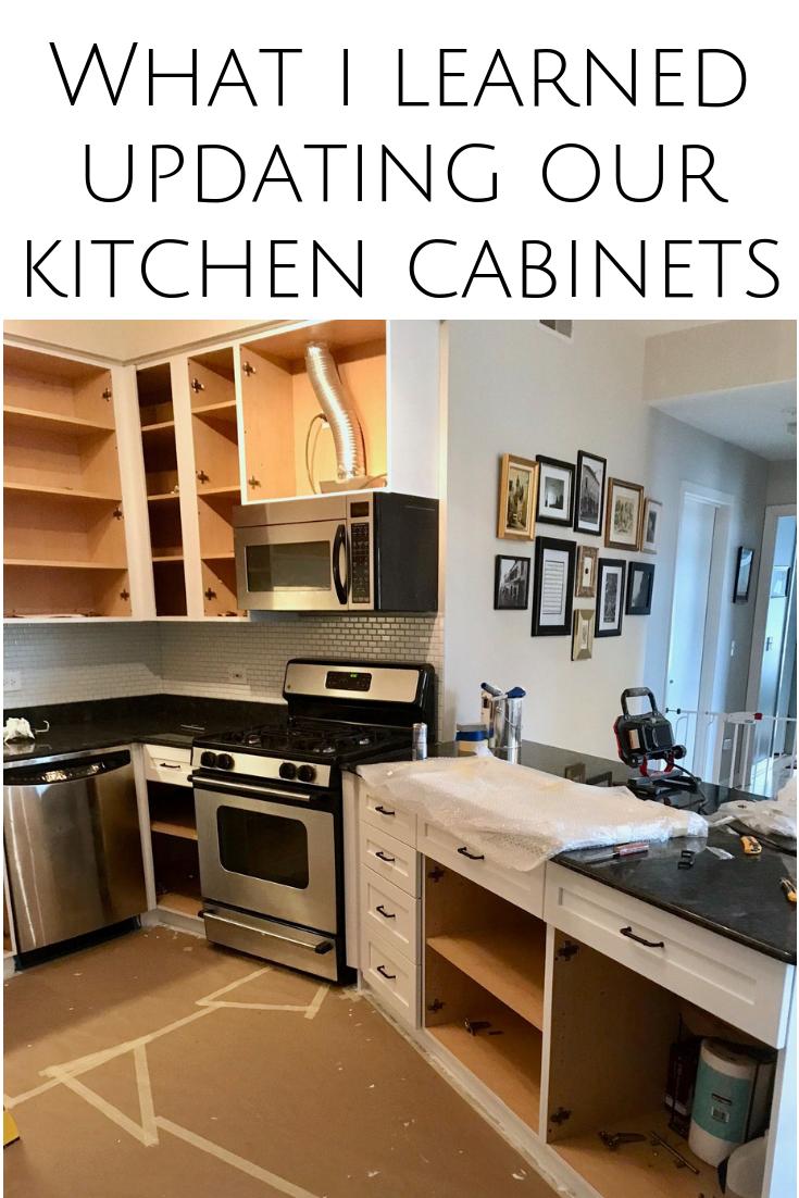 My Kitchen Update Reveal - Updated kitchen, Kitchen, Kitchen cabinets, Kitchen renovation, Living room kitchen, Old kitchen - kitchen area so I knew from the start that …