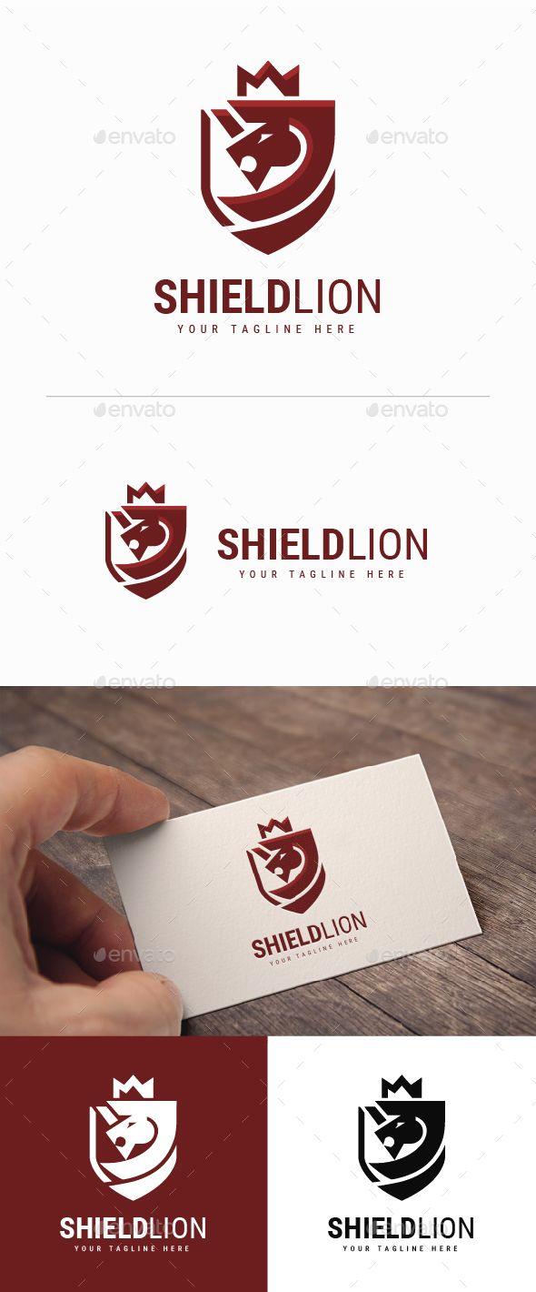 Shield Lion Logo   Lion logo, Lions and Logos