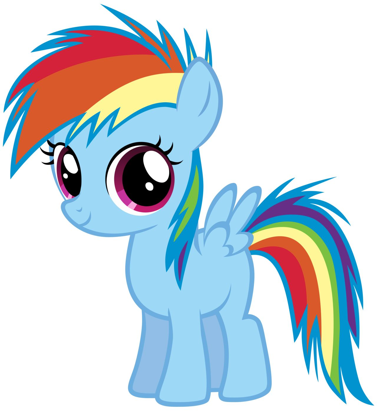 Rainbow Dash My Little Pony Baby Little Pony Pony