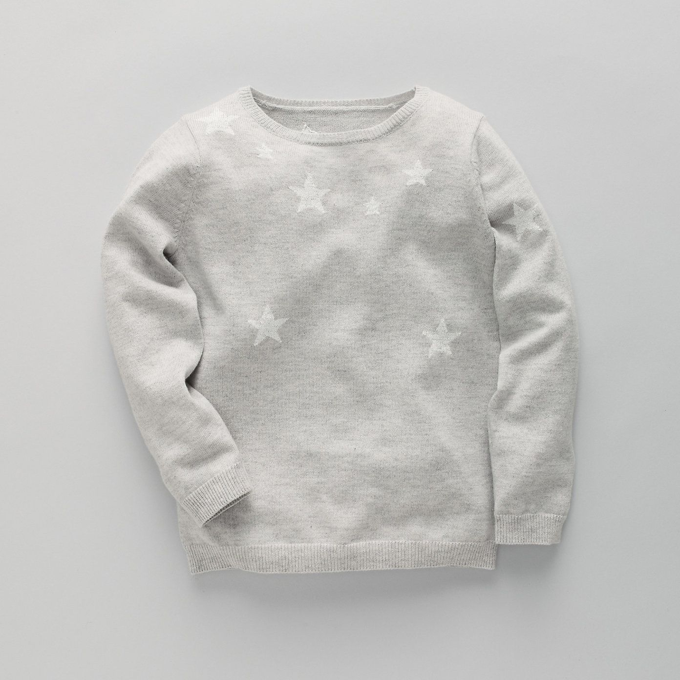 Scattered Star Girls' Sweater | The White Company | MY KID STYLE ...