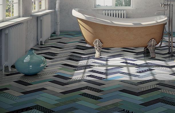 Bathroom Trends Expected in 2015 Feature Floor Tiles Blog Post Simpson Design + Decor http://simpsondesigndecor.com/bathroom-trends-expected-in-2015/