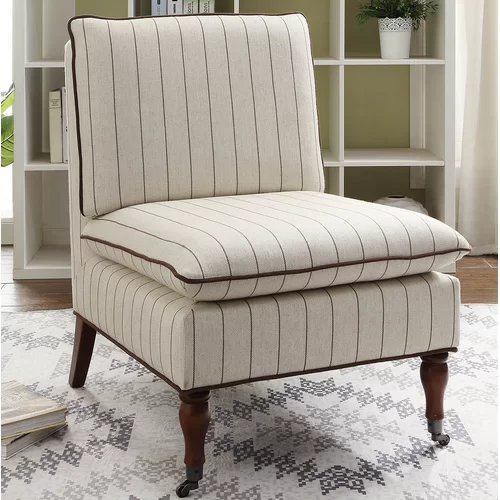 Highland Dunes Erica Slipper Chair Wayfair Chair Solid Wood Dining Chairs Chair Upholstery