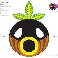 Print Paper Masks The Legend Of Zelda Majora S Mask 3d Play