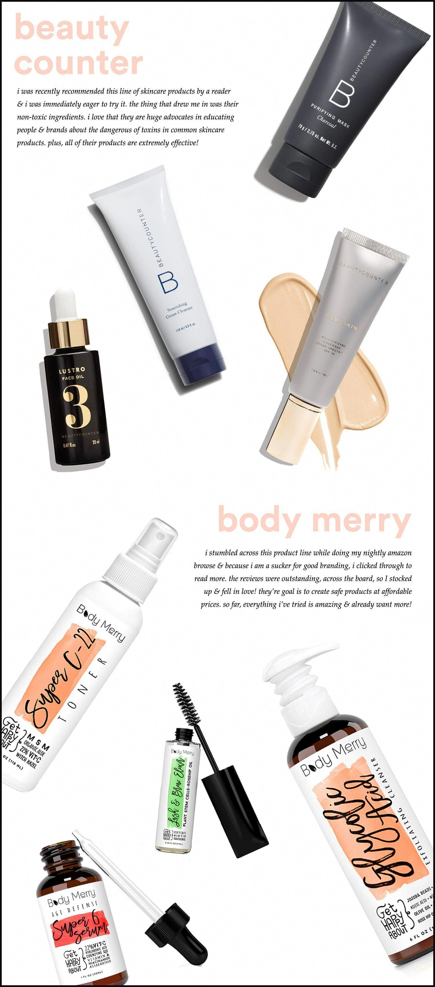 New In NonToxic Skincare Brands I'm Loving cleanbeauty