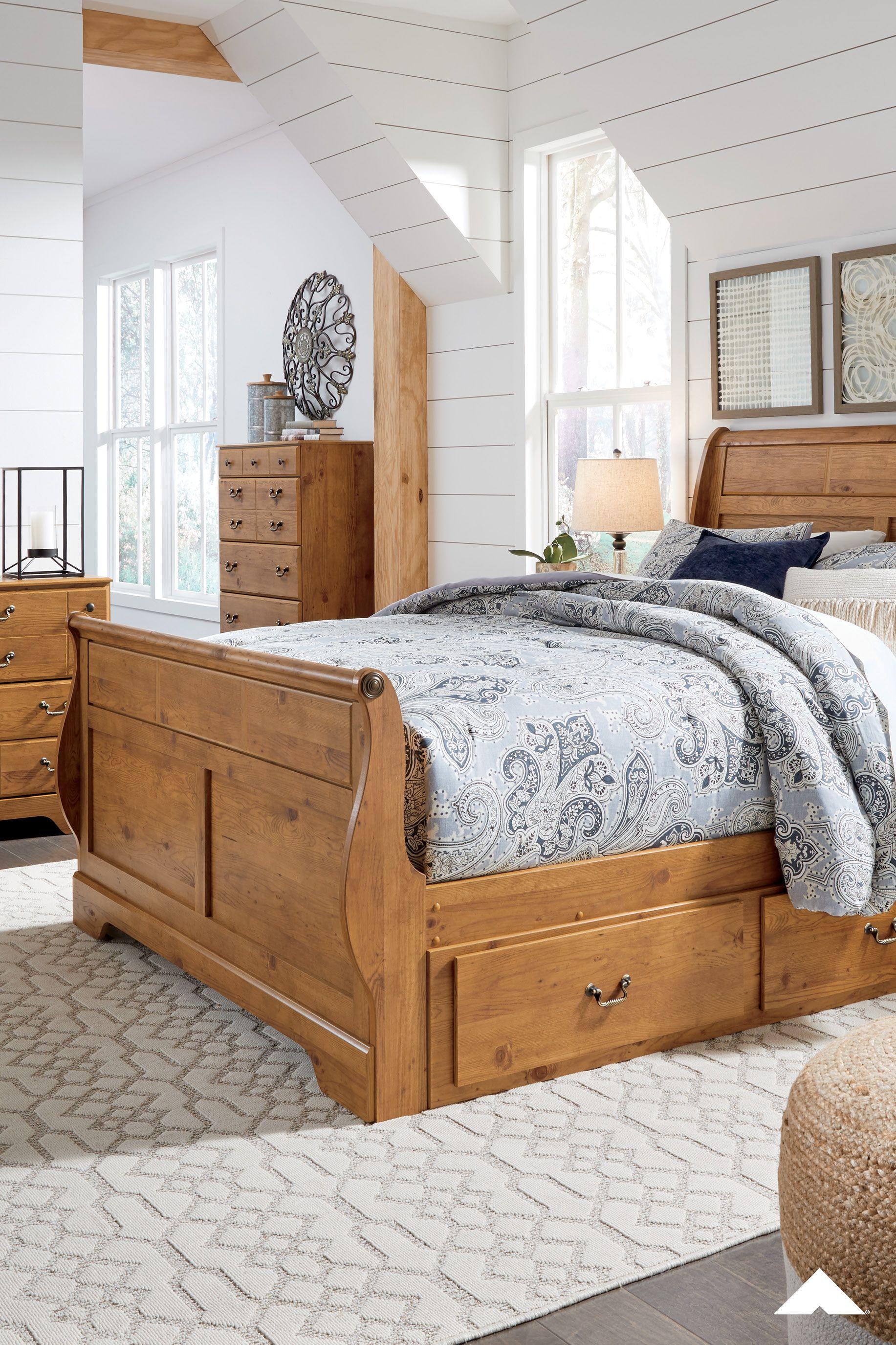 Bittersweet Light Brown Bedroom Set from Ashley Furniture ...