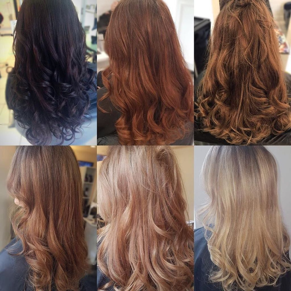 Image Result For Black To Blonde Hair Stages Black To