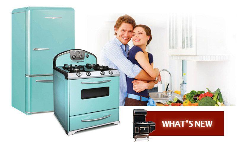 Elmira Stove Works Provides Antique Appliances, Retro Refrigerator,  Reproduction Stove, Vintage Stoves Custom