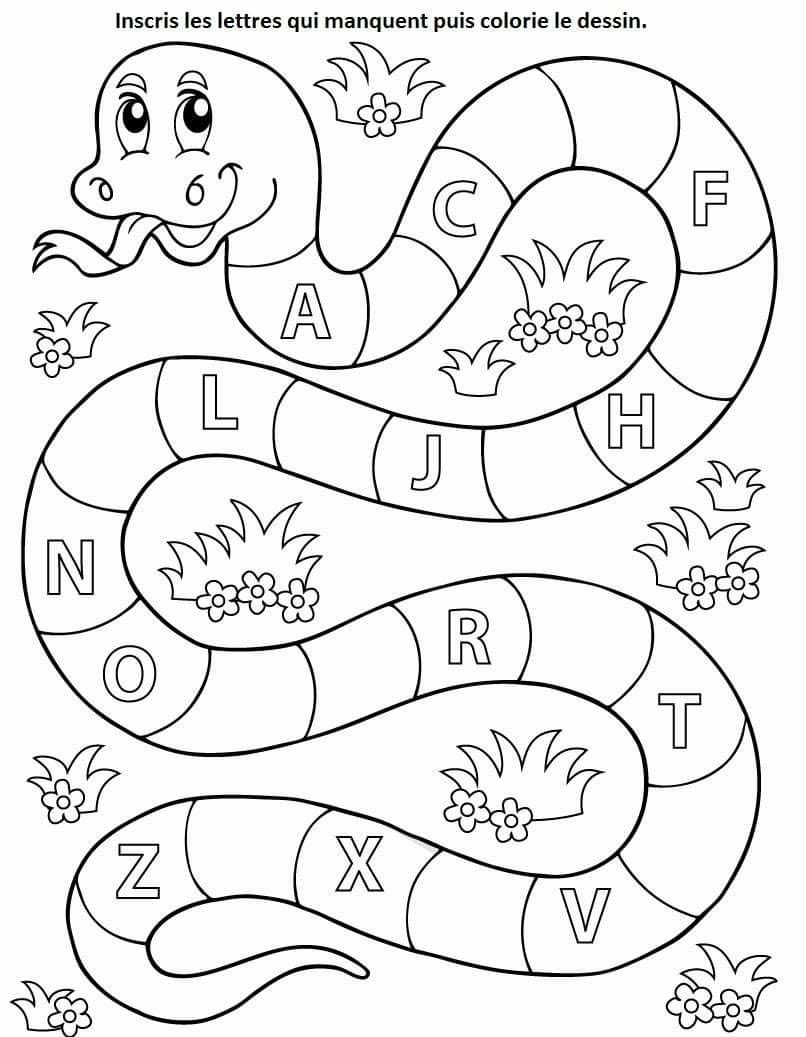 Pin By Victoria Soltero On Lettres Chiffres Preschool Writing Alphabet Worksheets Preschool Preschool Learning Activities [ 1037 x 806 Pixel ]