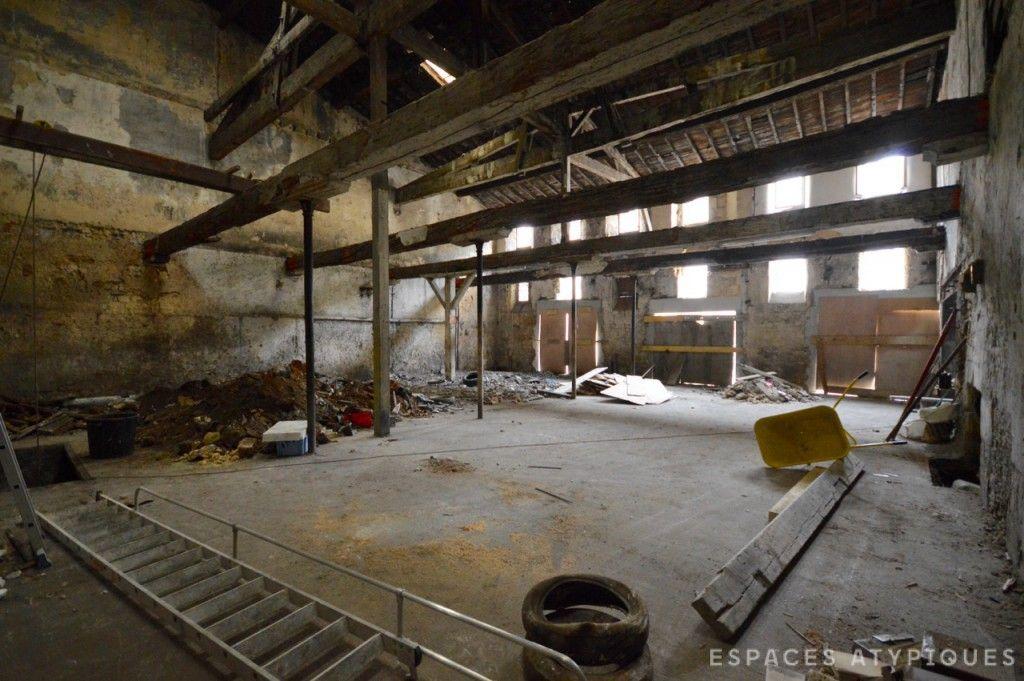 Bordeaux : Ancien chai à réhabiliter en loft