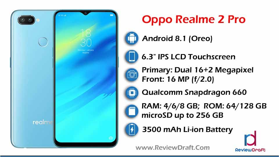 Oppo Realme 2 Pro Price In Bangladesh Specification Review Draft Oppo Mobile Free Cell Phone Big Battery