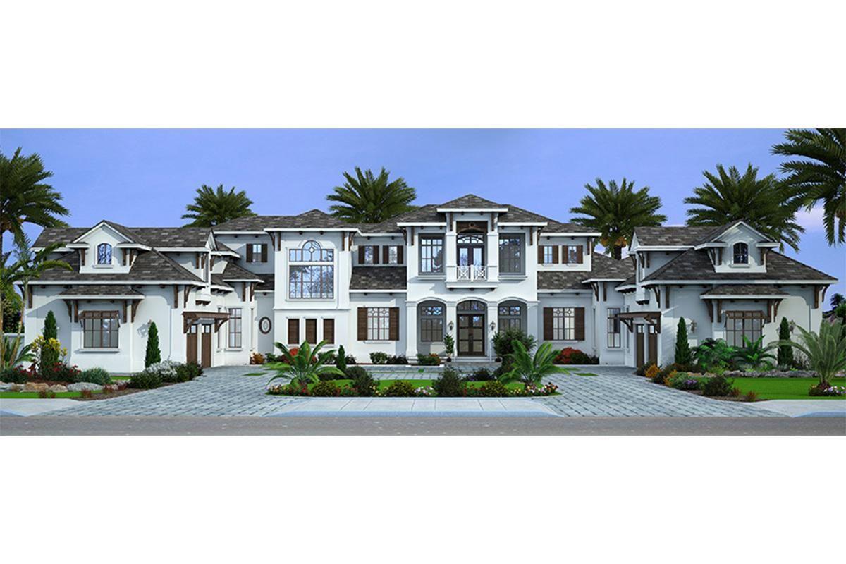 House Plan 207 00067 Luxury Plan 8 285 Square Feet 7 Bedrooms 8 5 Bathrooms House Plans Mansion Luxury House Plans Mansion Floor Plan