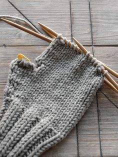 DIY | Fäustlinge stricken - mxliving