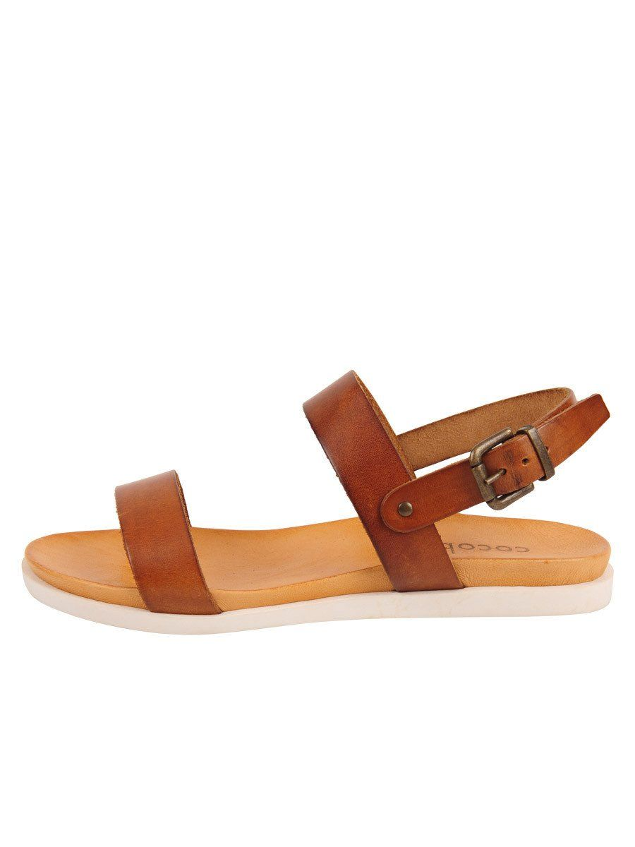 f12b3f4f396 The Salentina Sandal is a double strap leather slide sandal with buckle  closure on an ultra soft foot bed with rubber sole. You ll never want to  take these ...