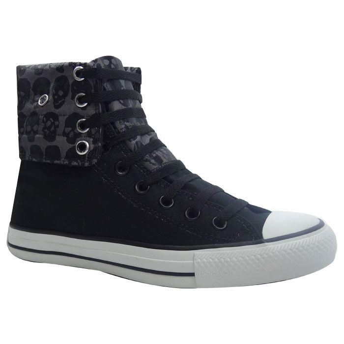 converse grises bota