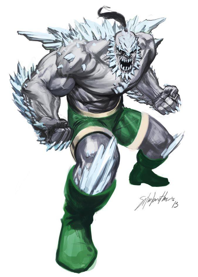 Doomsday Thesilvabrothers Deviantart Com Comic Villains Dc Comics Vs Marvel Terror Movies
