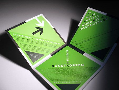 Two sided square folding | Brochures | Pinterest | Brochures and ...