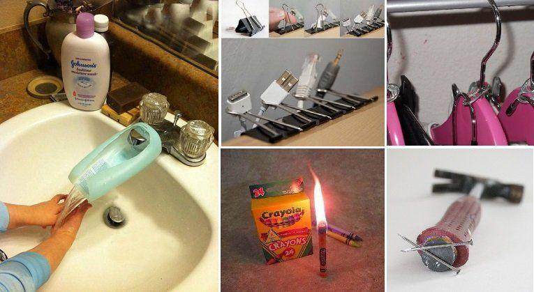 50 Soluciones Practicas Y Tips Economicos Para El Hogar Inventos