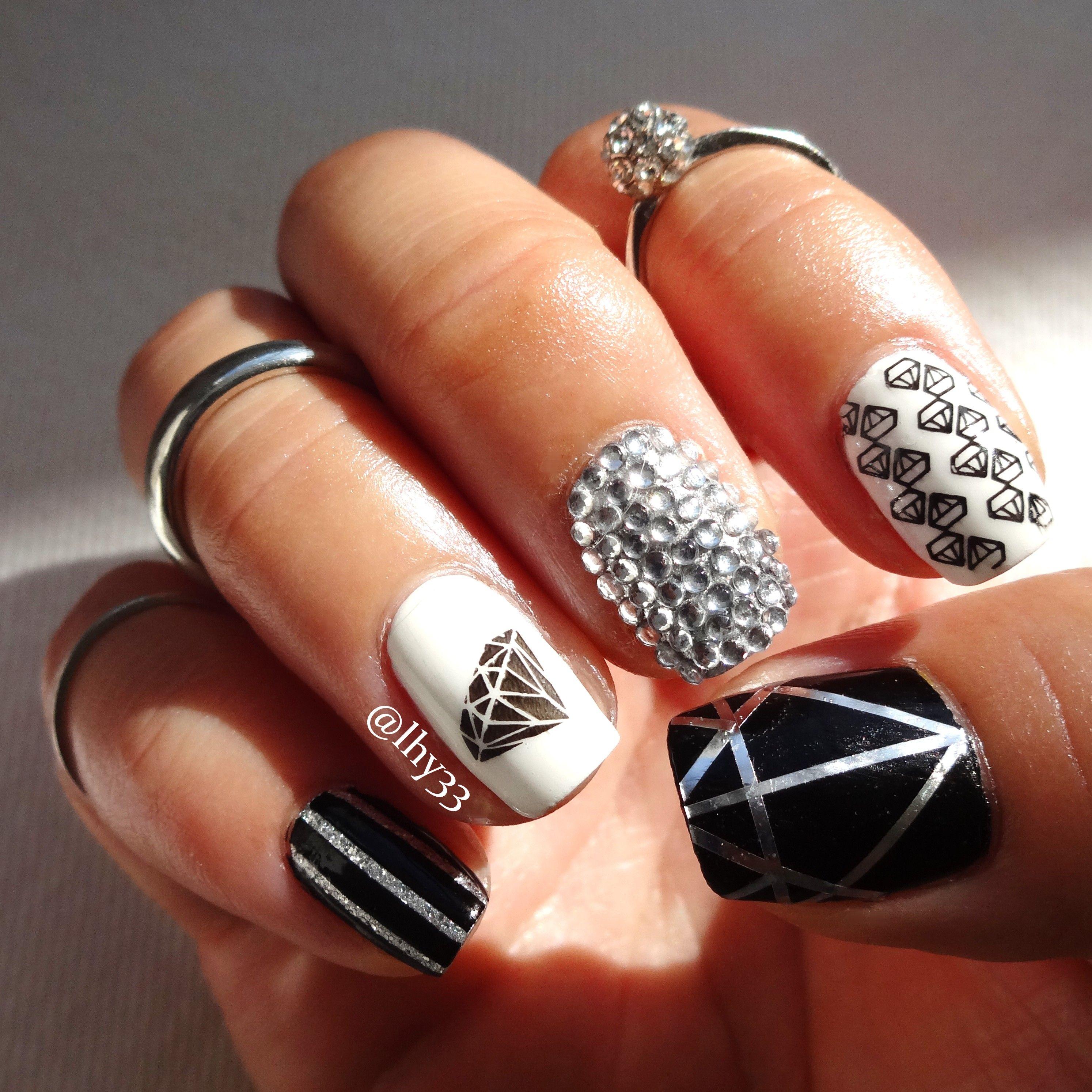 shine bright diamond lacquered
