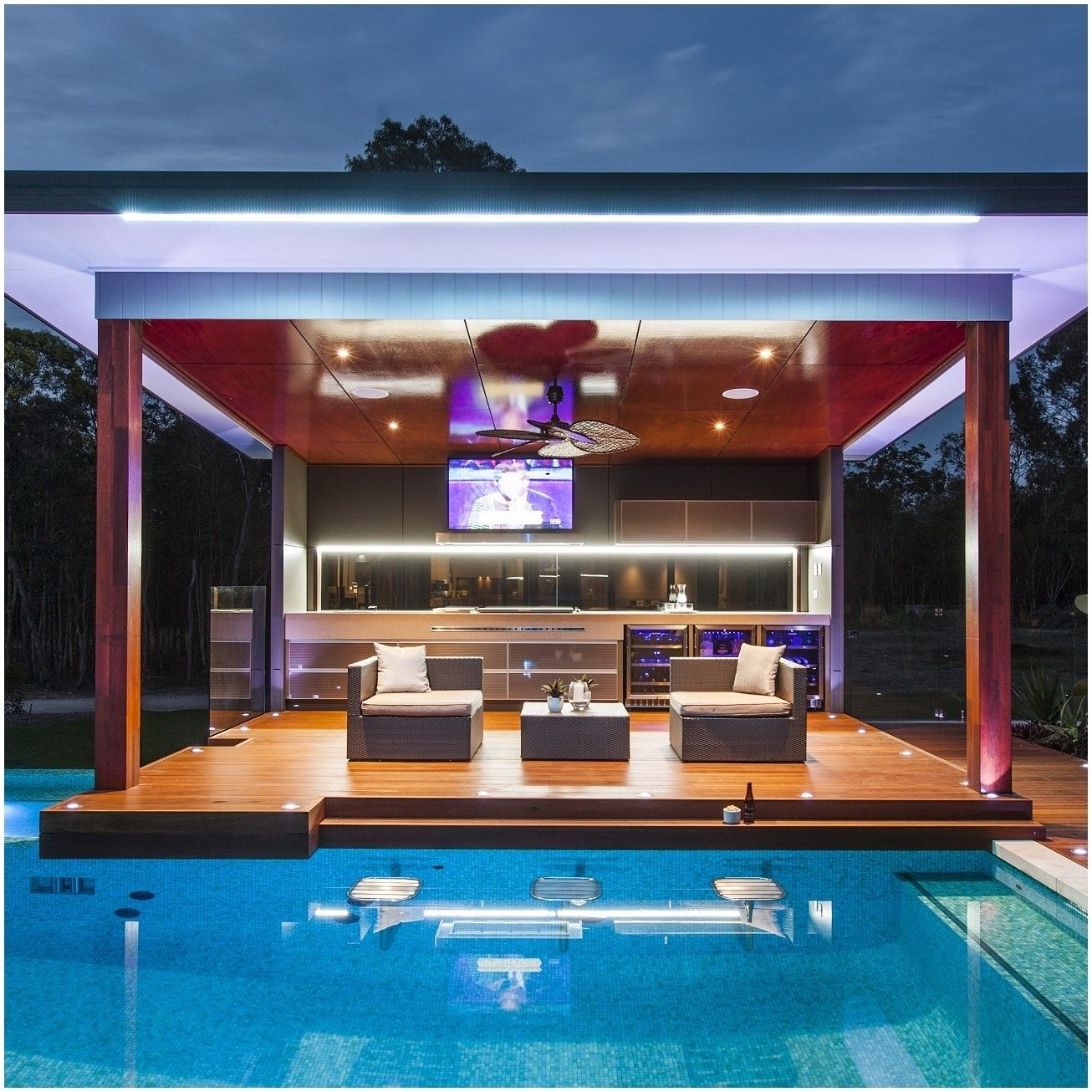 Backyards Awesome Backyard Designs With Pool And Outdoor Kitchen