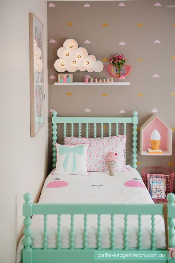 Ideen Für Mädchen Kinderzimmer Zur Einrichtung Und Dekoration. DIY Betten  Für Kinder. Mit Freundlicher Unterstützung Von Www.flexhelp.de | Pinterest  | Room, ...