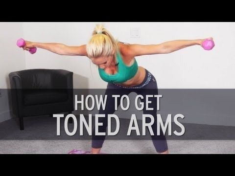 i got rid of my arm flab in just three months and using