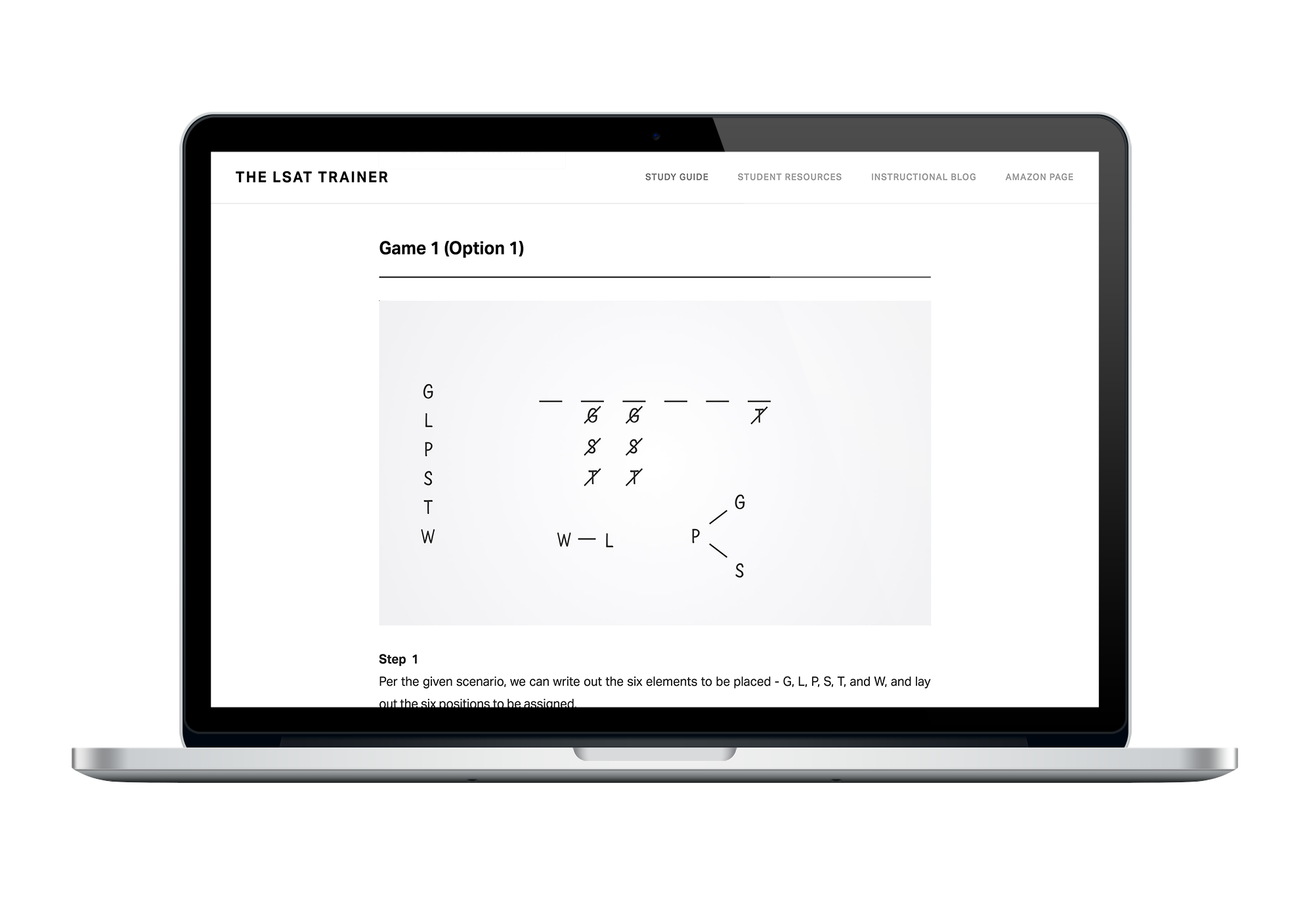 Diagramming solutions for every LSAT Logic Game from