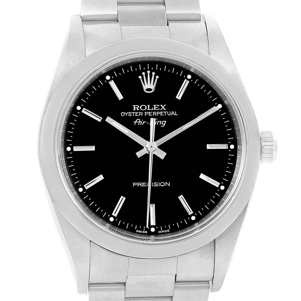 17549 Rolex Oyster Perpetual Air King Smooth Bezel Steel